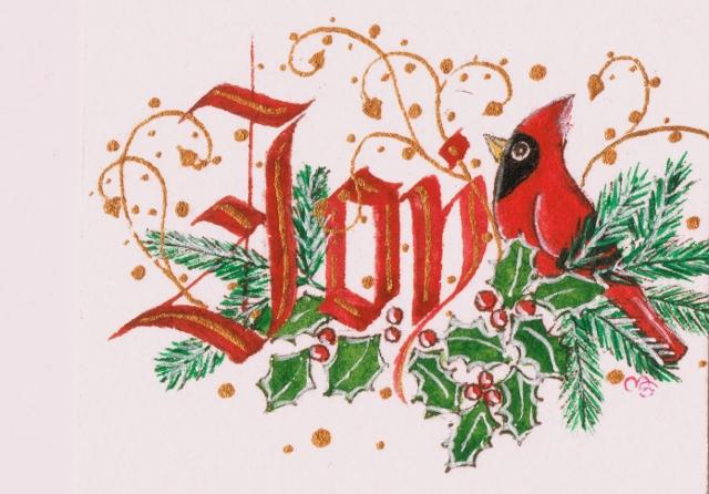 クリスマスの赤い色